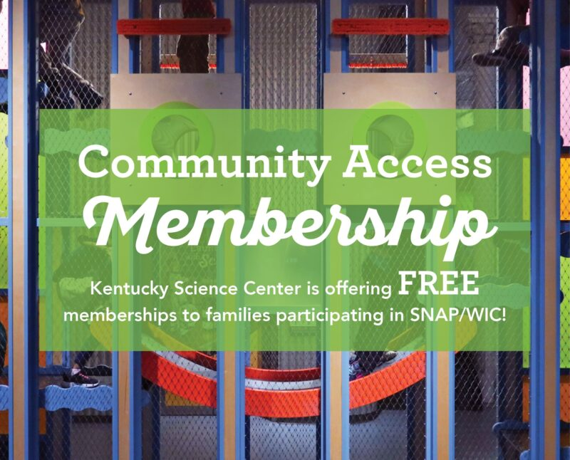 Free Kentucky Science Center Membership