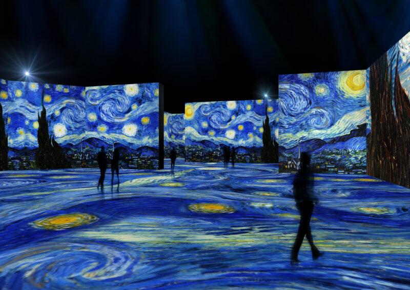 van Gogh Exhibit in Indianapolis