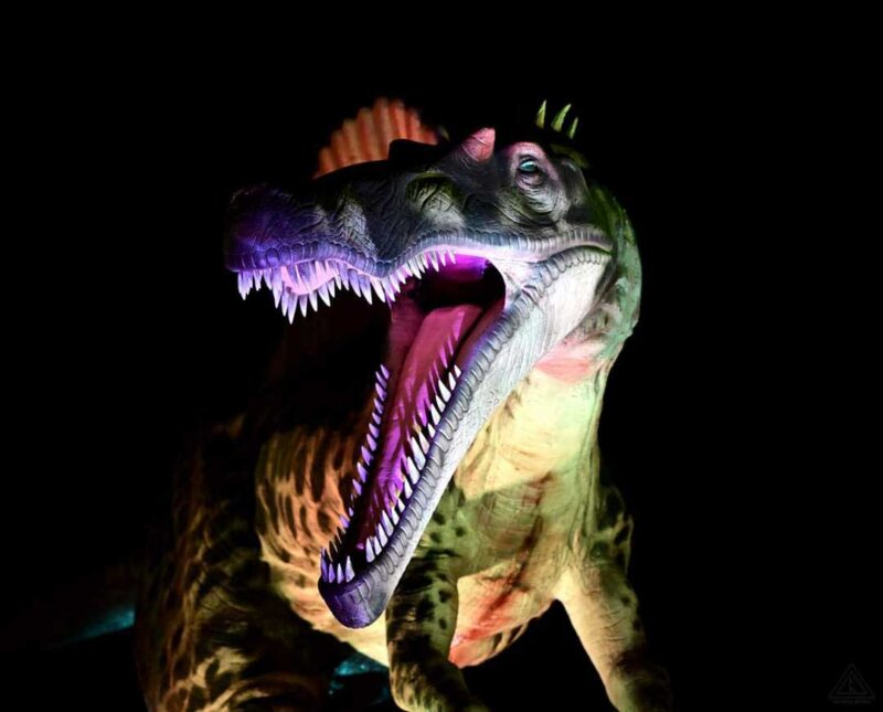 Dinosaur event at Louisville Mega Cavern