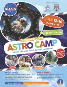 Astro Camp with Central Creativity