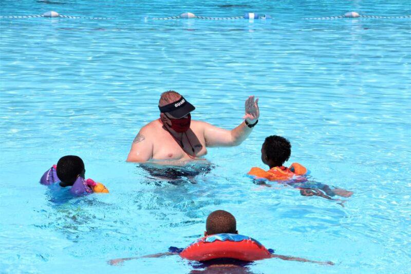 metro parks swim