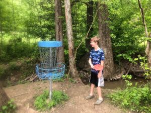 Disc Golf in Louisville