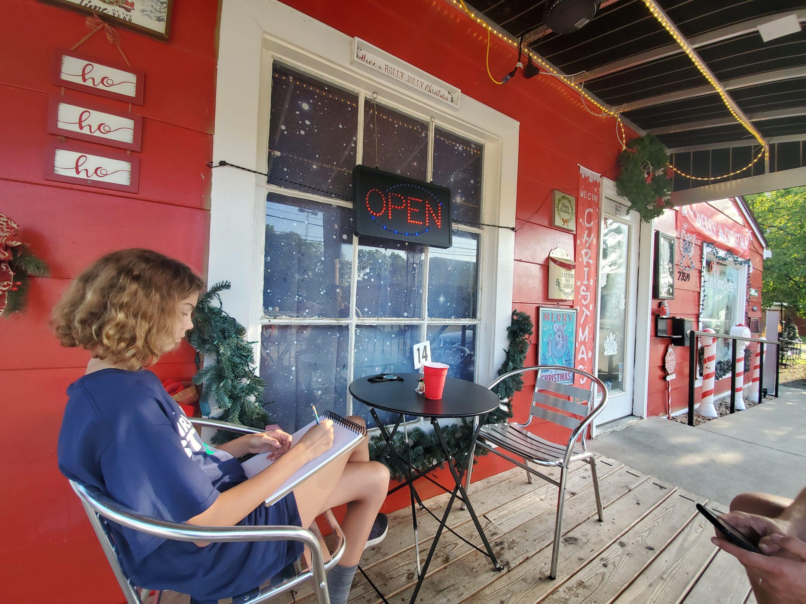 Christmas Morning Cafe