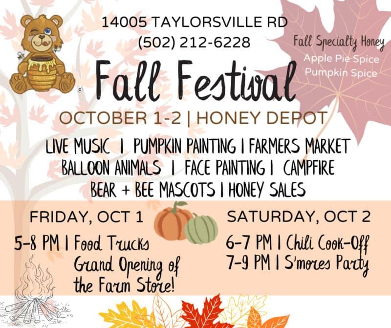 HoneyBear Fall Fest