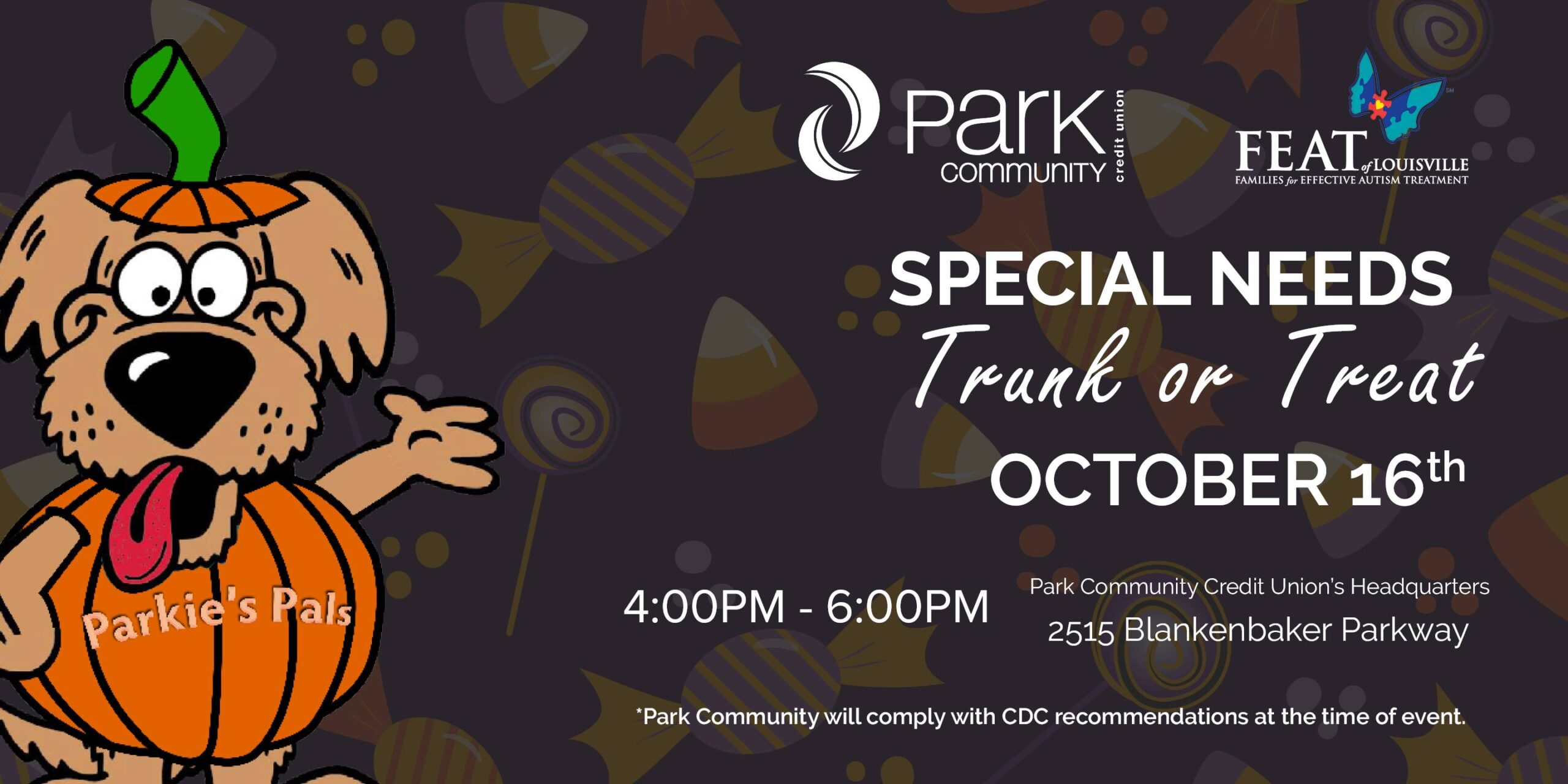 October events in Louisville